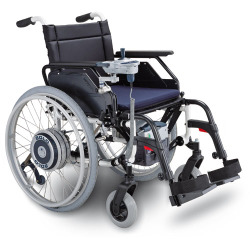 Solo Lightweight Power Wheelchair conversion kit